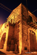 Via Del Calvario di notte 2016 cm 30x45
