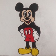 Happy Mickey Mouse.
