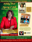 Holiday Mix and Mingle Featuring Our Own Dr. Hattie N. Washington