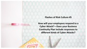 Flashes of Risk Culture 5