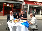 More food sharing at Myddleton Road Street party