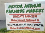 Motor Avenue farmers market in Palms Los Angeles
