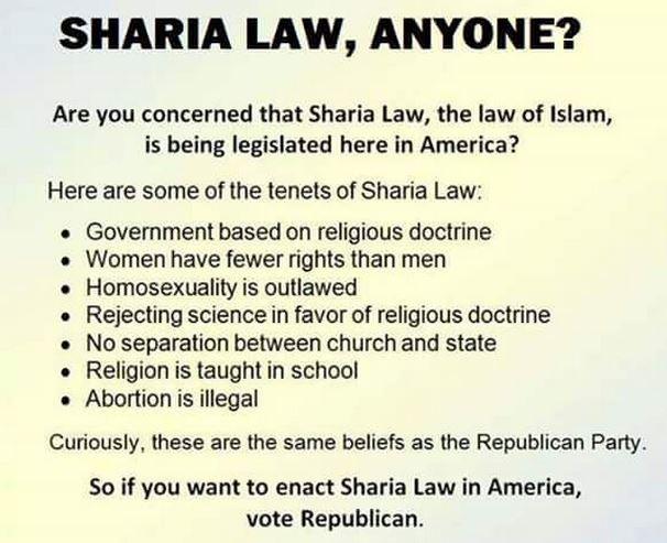 Republican Sharia