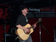 Performing at The Legendary Red Rooster in March 2011