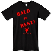 The Tyree Glenn Jr. Bald is Best American T-Shirt