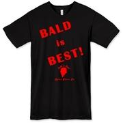 The Tyree Glenn Jr. Bald is Best American T-Shirt