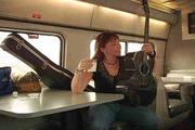 Beth Marshall making Morning Train Music Video