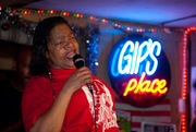 Sweet Claudette sings the blues at Mr Gips