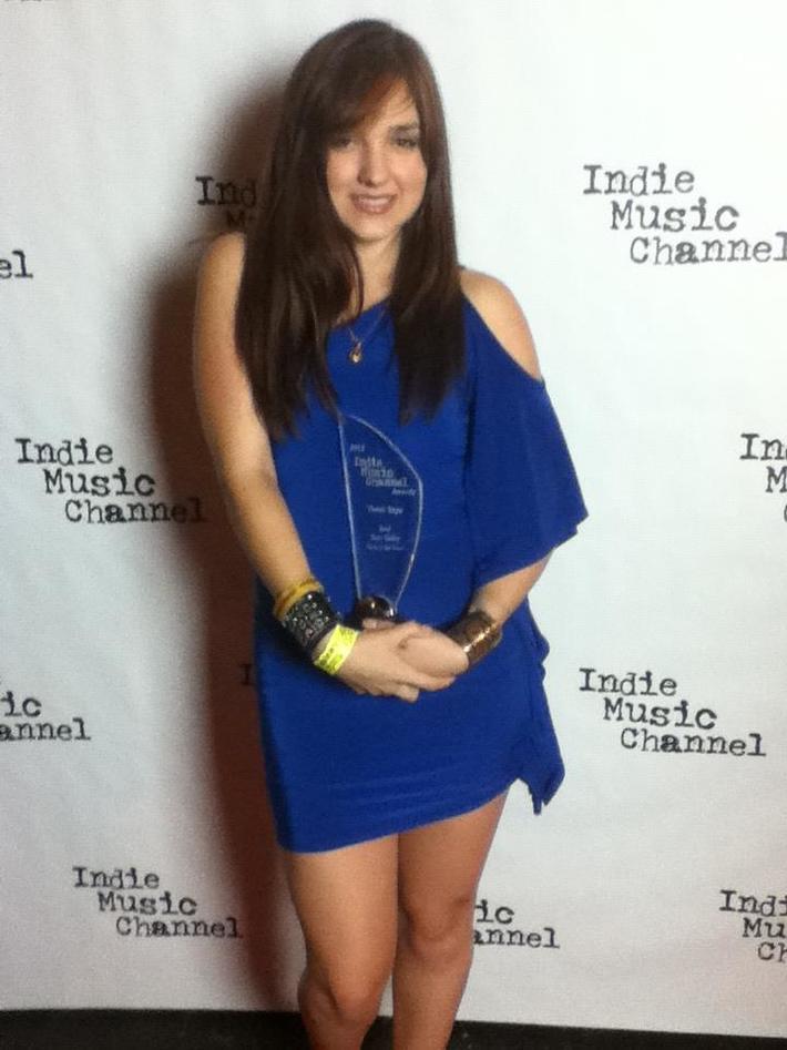 Tivoli Skye- winner of  Best Teen Demo award