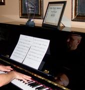 Kevin at piano