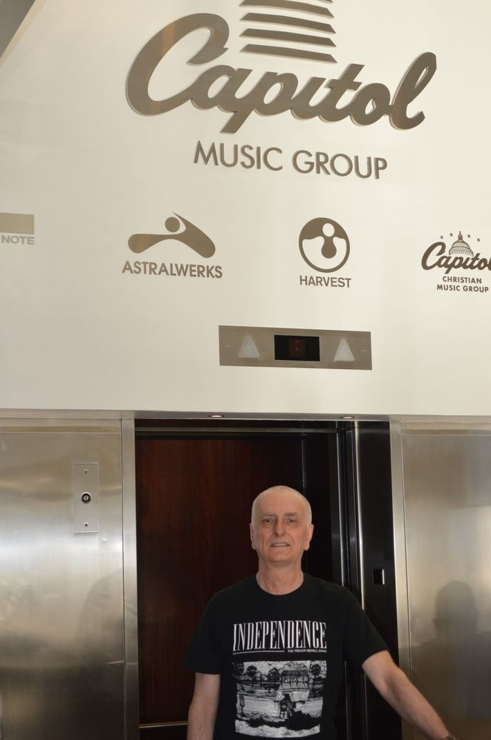 Trevor Sewell at Capitol Records