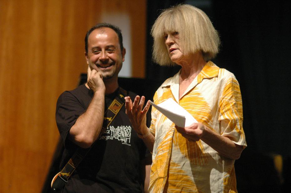 Roberto Tola and Carla Bley