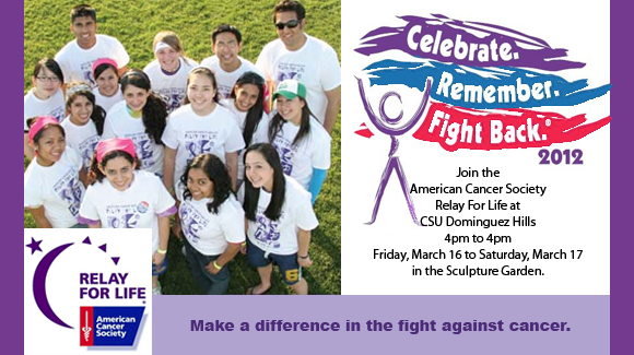 CSUDH Relay for Life March 16 to 17