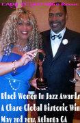 Black Women In Jazz Honoree/Ambassador and Award Winner