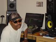 Jonnai at His home music work  station