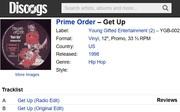 Prime Order 1998 Release Vinyl