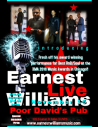 Earnest Williams Live Shows