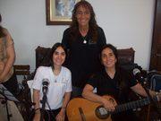 Laura Villa, Tuty Ferrer y Ale Villa