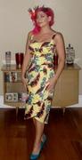 Dixiefried Tiki Twist dress in Yellow Banana print :)