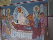 ღმრთისმშობლის მიძინების ფრესკა
