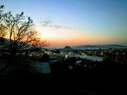 მზის ჩასვლის გორა გორში