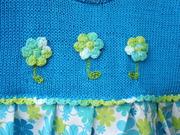Detail Emily's Sommerkleid