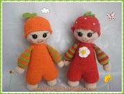 Orange und Erdbeere :))