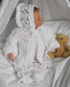 Babygarnitur in weiß