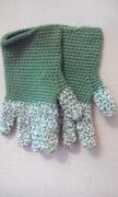 meine gehäkelten handschuhe