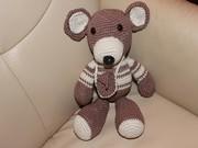 En lille Bamser ( ein kleiner Teddy.