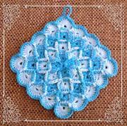 Topflappen Bavarian Stitch 2