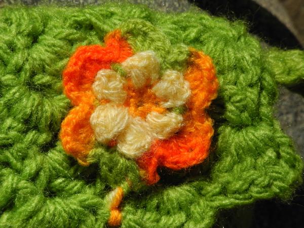 Detail der Tasche