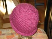 Mütze mit Rollrand