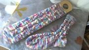 Zopfmuster Socken