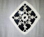 Küchengardine Ornament 1