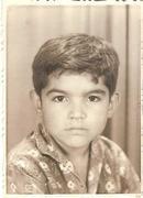 Guillermo Capellán  niñez 5 años