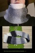 Loopschal aus Wichtel-Wolle