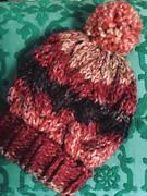 Mütze mit Wellenmuster