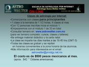 ECUELA DE ASTROLOGIA ONLINE ASTROWALTER