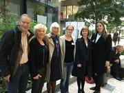 The PREVIEW team at the European Commission on 6th October 2015