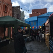 Vegan market - Blue House Yard