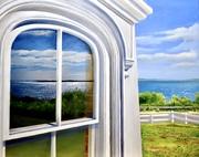 Nobska Window Reflection