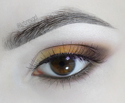 Sepia Eye makeup