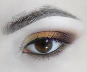 Sepia Eye makeup