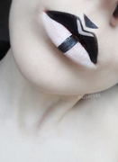 Graphic Lip Art