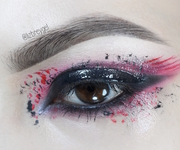 Black and Pink Glossy Mess