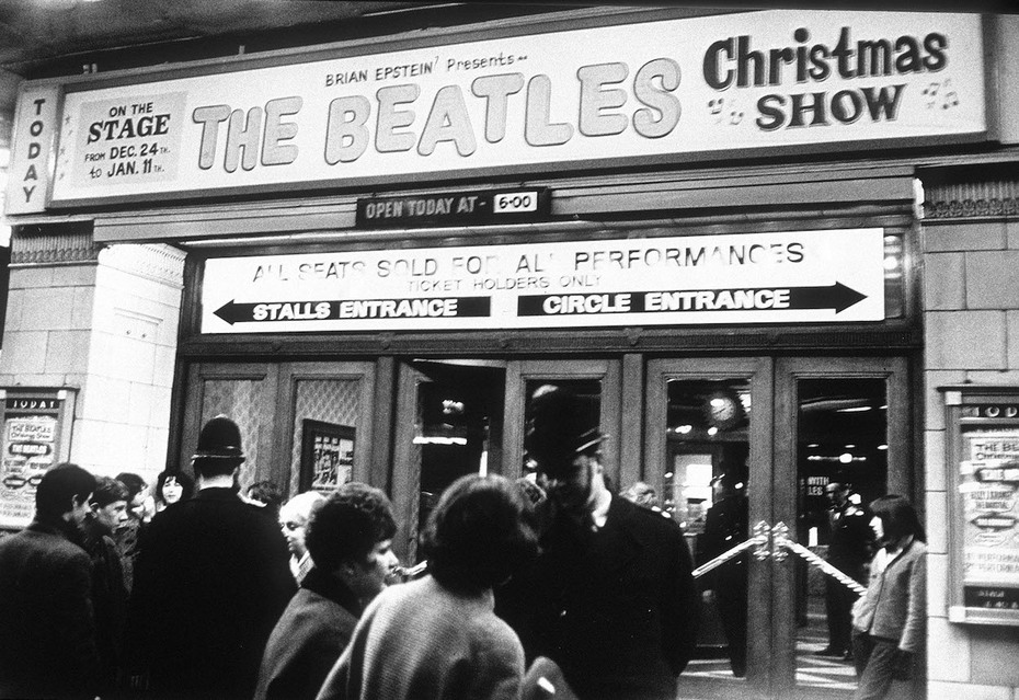 The Beatles at Astoria Cinema, Finsbury Park, 1963/64