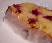 Cranberry Lemon Cake with Lemon Glaze