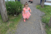 Amelia on a Nature Walk