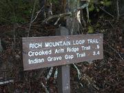 Rich Mountain Loop Hike